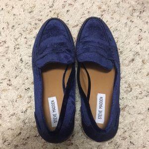 🍂 Velvet Steve Madden loafers 🍂